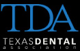 Texas Dental Association button