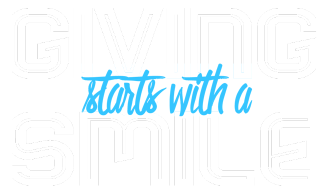 giving starts with a smile logo